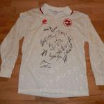 Geschenk der Schweizer Nationalmannschaft / Fussball-Corner Oechslin zur Hochzeit