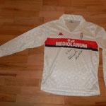 signiert von Roberto Donadoni und Carlo Ancelotti in Zürich bei unserer Autogrammstunde im Fussball-Corner Oechslin