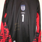 #1 - Graham Smith - match worn vs. Irland