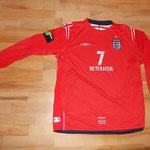 #7 - David Beckham - No To Racism - vs. Holland 09.02.2005