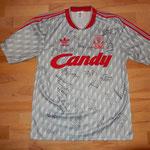 signiert im Säntispark mit Spielern wie Michael Owen, Karlheinz Riedle, Patrick Berger, Stephane Henchoz etc.