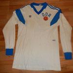 Nach der Wiedervereinigung mit Deutschland hat mir der DDR-Fussballverband Joachim Streichs Trikot geschickt. 1989