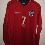 #7 - David Beckham vs. Italy 27.3.2002