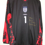 #1 - Graham Smith - match worn vs. Belgien