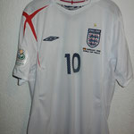 #10 - Wayne Rooney - Germany 2006 World Cup Finals