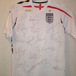 Signed by the whole team - Gerrard, Beckham, Terry, Lampard etc.