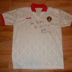 Belgien - signiert von Gert De Flieger - Belgischer Nationaltorwart von Willem Tilburg