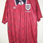 #9 - Emile Heskey - match worn - UEFA Championships Belgium 1995