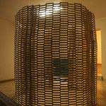 Bauklötze Holzbausteine LABAU begehbare Skulptur
