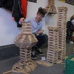 Bauklötze Holzbausteine LABAU Türme