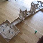 Bauklötze Holzbausteine LABAU Fort