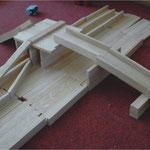 Bauklötze Holzbausteine LABAU Brücke