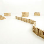 Bauklötze Holzbausteine LABAU