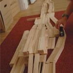 Bauklötze Holzbausteine LABAU Autobahn
