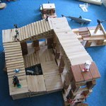 Bauklötze Holzbausteine LABAU Treppe