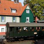 Der Bahnhof Naumburg