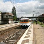 """Der """"Stahlstadtexpress"""" mit Abfahrt am Peiner Bahnhof Richtung Braunschweig"""