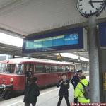 Rückfahrt nach Rahden - hier Hbf Braunschweig