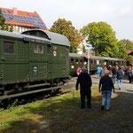 Fotohalt am Bahnhof Hoof