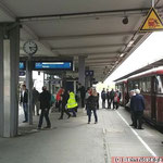 Rückfahrt nach Rahden - hier Hauptbahnhof Braunschweig