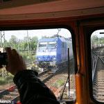"""Der """"Stahlstadtexpress"""" mit Rundumblick"""