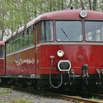 VT98 im Bahnhof Klein Mahner