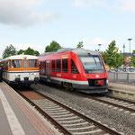 Richtungswechsel, Kreuzung und Fotohalt in Salzgitter-Bad