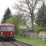 Auf der Museumsbahn im Warnetal - Haltepunkt Werlaburgdorf
