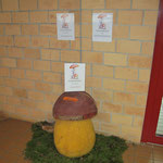 Urne für den Kinderwettbewerb.