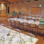 Restaurant und Ausstellung sind bereit für den Besucheransturm!