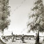 """Framsida till boken """"Allt har sin tid"""" Glimtar från Sunne kyrka, Prostgården och Stora arrendegården av Mai Hedin"""