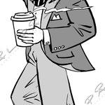 Fasadskylt för kaffe, Nedeby Marketing
