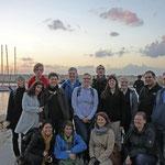 Die Gruppe im Hafen von Jaffa