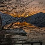 Abendstimmung am Attersee - Aufgenommen in Forstamt (© Andrew Blomfield)