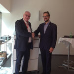 Daniel Fuchs with Mr. Ivan Breiter, Market Manager South East Asia, Switzerland Tourism