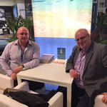 Mr. Tim Dean Smith, left, (Owner of Beach Republic, Koh Samui, Thailand) & Dr. Daniel G. Fuchs, right