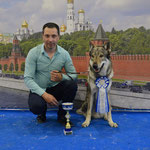 Будда- Чемпион Мира 2016. BOB, CW, CAC, CACIB, ЛК (WORLD WINNER – 2016).