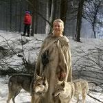 Елена Летучая, Вольф и Асти.
