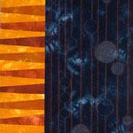 Organica Blue Art Quilt