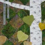 Aspen Landscape Art Quilt