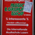 Hinweistafel bei Hauseingang Zürichstr.66, Luzern