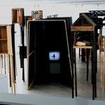 shelter 2006, Installation Ausstellungsansicht Gruitpoortgalerie Doetinchem / NL