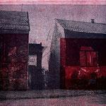"""""""S 2"""" aus der Reihe Bosnian Nightmare, 2000/2012 Hochdruck über Photocopy-Transfer"""