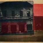 """""""S 1"""" aus der Reihe Bosnian Nightmare, 2000/2012 Hochdruck über Photocopy-Transfer"""