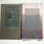 places 2017, Holz- und Bleischnitt über Phototransfer, 64,5 x 69,5 cm