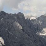 """der Jubiläumsgrat  """"Weg"""" von der Alpspitze zur Zugspitze"""