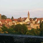 Rothenburg im Abendlicht