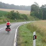 ... los gehts - über den Odenwald