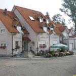 die erste Übernachtung  kurz vor Tauberbischofsheim