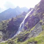 der obere Partschiner Wasserfall